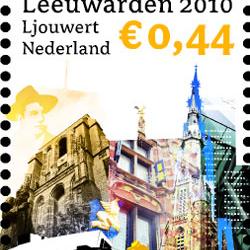 Oldehove postzegel